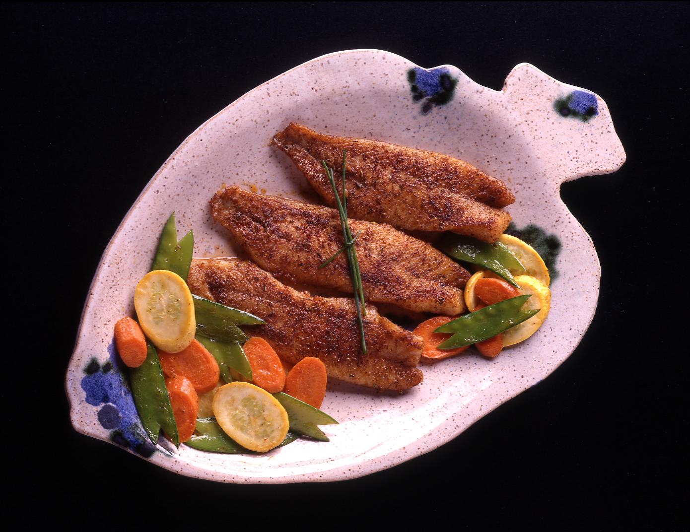 Bronzed Fish