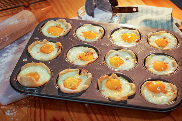 Egg Cups Recipe Image