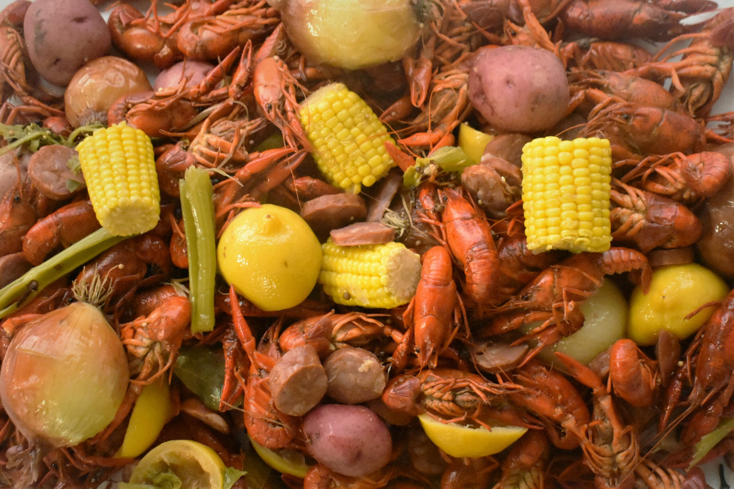 Crawfish or Shrimp Boil