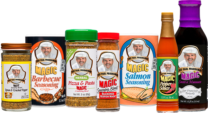 Magic Seasoning Blends product lineup