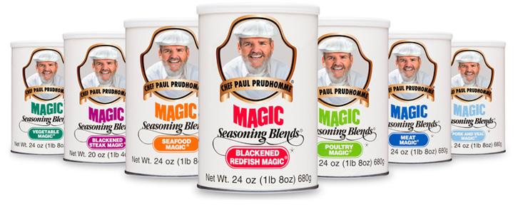 Magic Seasoning Blends Product Lineup