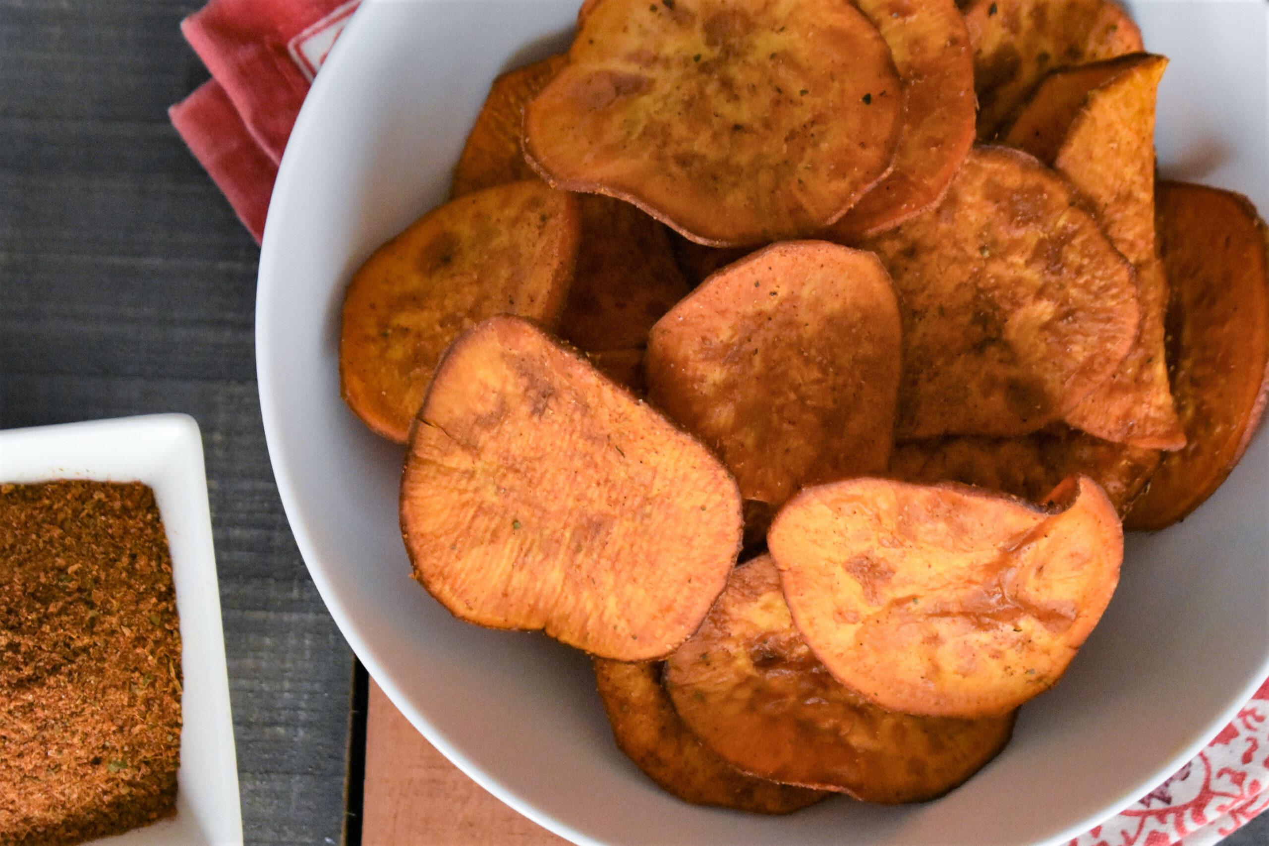 Deep-Fried Sweet Potato Chips