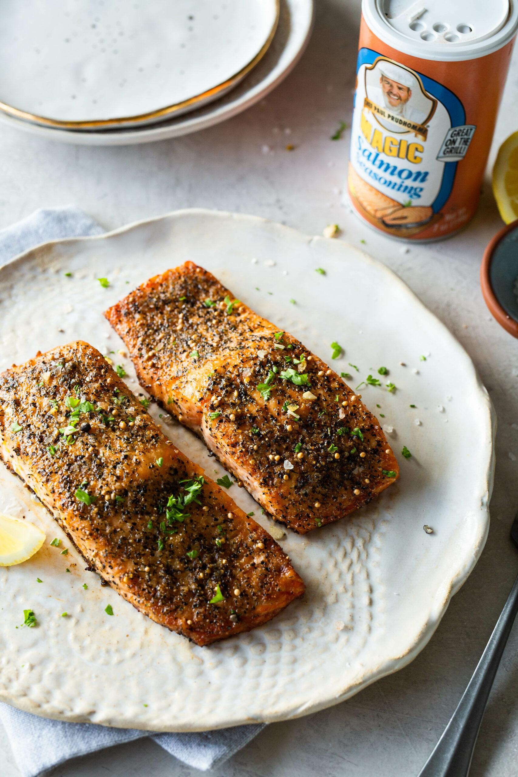 Magic Baked Salmon