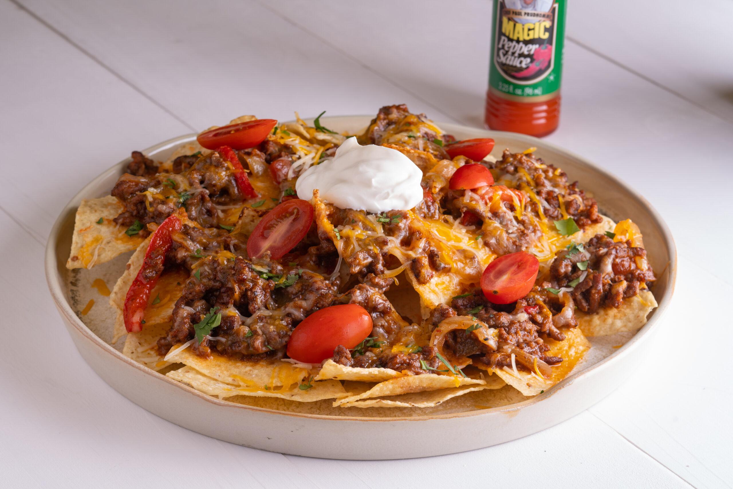 Fajita Beef Nachos