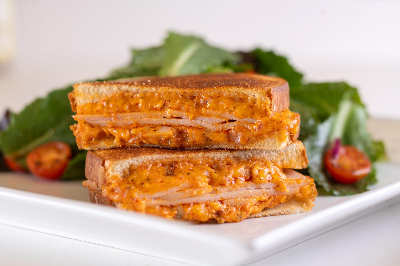 Turkey & Tasso Grilled Cheese