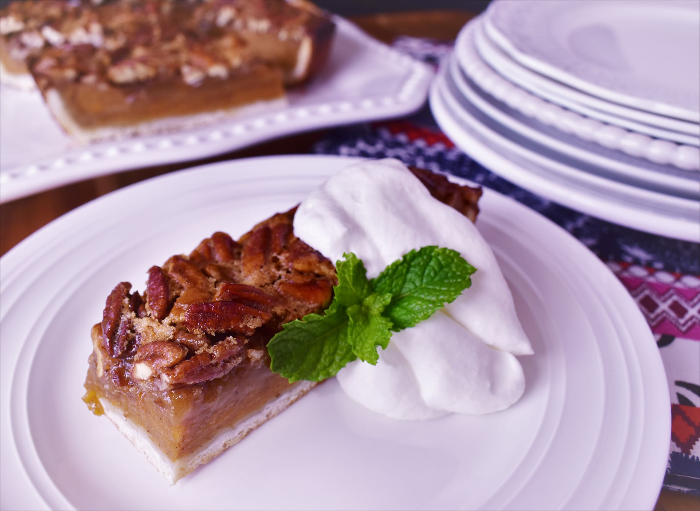 Sweet Potato Pecan Pie Squares