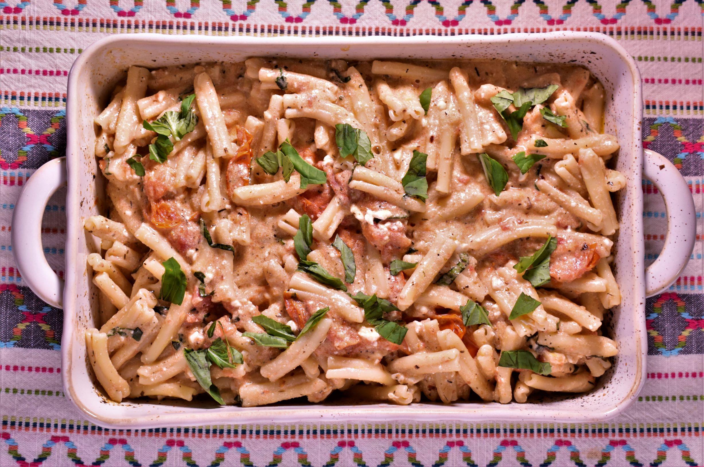 Baked Feta & Tomato Pasta
