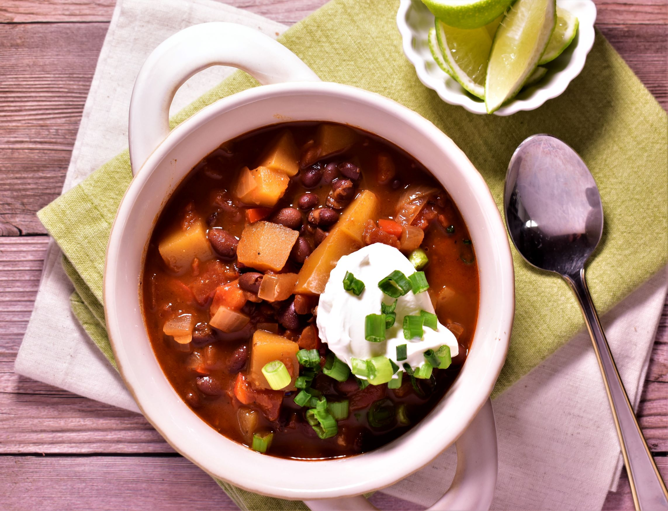Chipotle, Black Bean & Butternut Chili