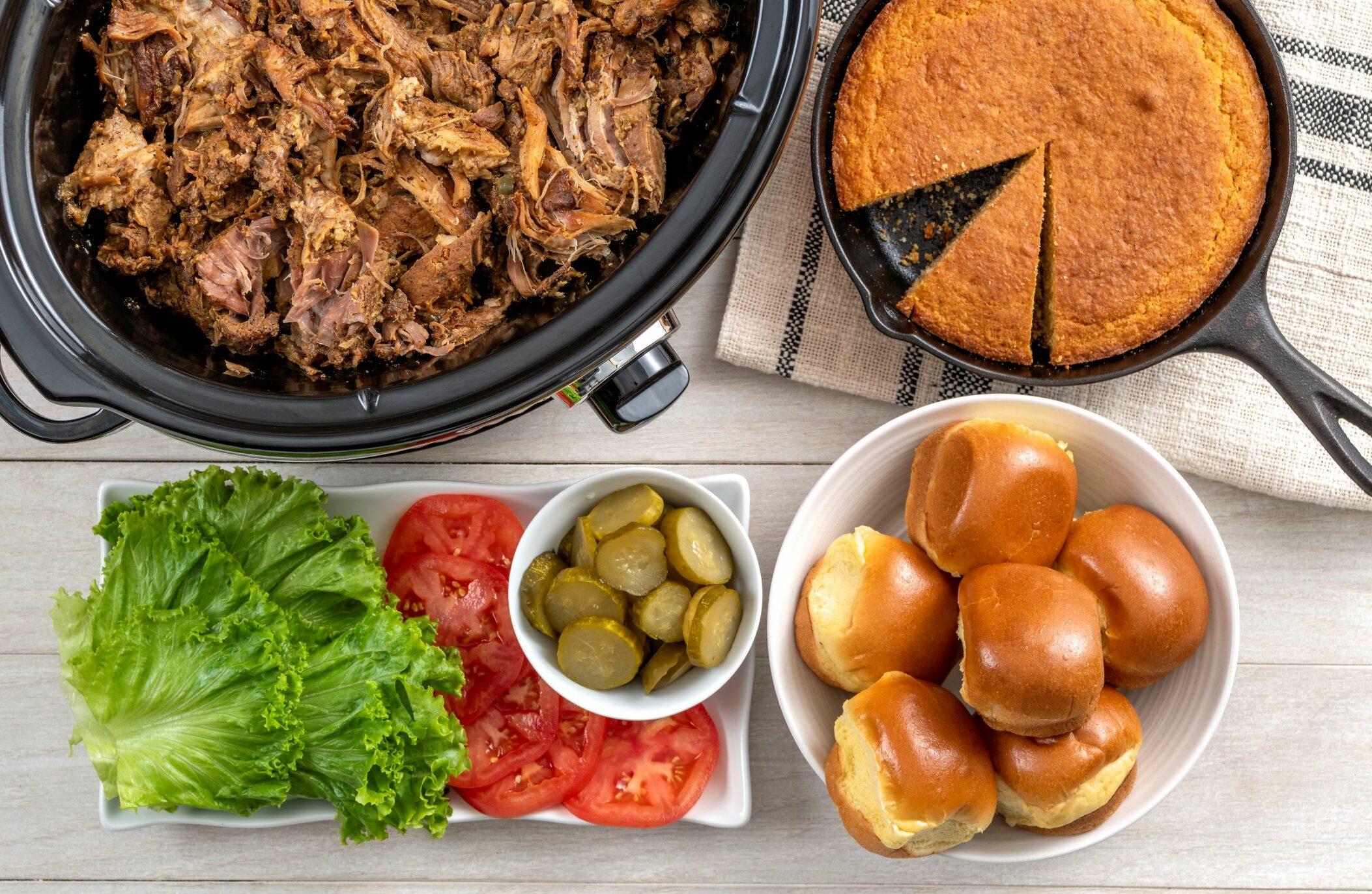 Slow Cooker Cochon de Lait